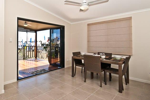 Hoek Modular Homes Granny Flat Brisbane Dining Area
