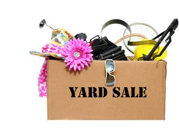 Decluttering Your Home Yard Sale