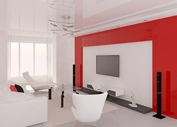 Colour Scheming Your Home Red And White Theme