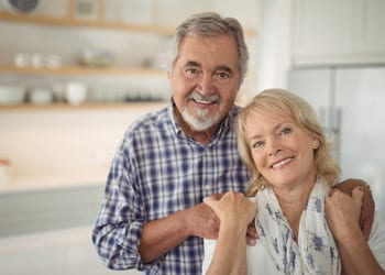 Happy Couple In Granny Flat